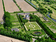 Nederland, Utrecht, Houten, 14-05-2020; Restaurant Kasteel Heemstede, historische buitenplaats.<br /> Restaurant Kasteel Heemstede, historic country estate.<br /> aerial photo (additional fee required);<br /> copyright foto/photo Siebe Swart