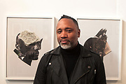 April 8, 2018-New York, New York-United States: Photographic Artist Shawn Theodore attends the Photography Show presented by AIPAD held at Pier 94 on April 8, 2018 in New York City. The Photography Show, held at Pier 94, is the longest-running and foremost exhibition dedicated to the photographic medium, offering contemporary, modern, and 19th century photographs as wells photo-based art, video and new media.(Photo by Terrence Jennings/terrencejennings.com)