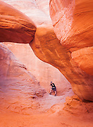 Sand Dune Arch, Arches National Park, Utah, United States of America