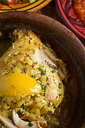 Lemon herb chicken in Casablanca, Morocco