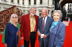 Left to right, Artist ROLF HARRIS, his wife ALWEN and LORD & LADY CARRINGTON at the Royal Academy of Art's SUmmer Party following the official opening of the Summer Exhibition held at the Royal Academy of Art, Burlington House, Piccadilly, London W1 on 7th June 2006.<br /><br />NON EXCLUSIVE - WORLD RIGHTS
