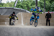 #109 (GAND Anais) FRA at Round 6 of the 2019 UCI BMX Supercross World Cup in Saint-Quentin-En-Yvelines, France