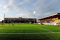 Fotball , 3. september 2017 ,  OBOSligaen , OBOS-ligaen<br /> Ull/kisa - Mjøndalen 0-1<br /> Ullensaker Kisa<br /> illustrasjon , Jessheim stadion , ny tribune