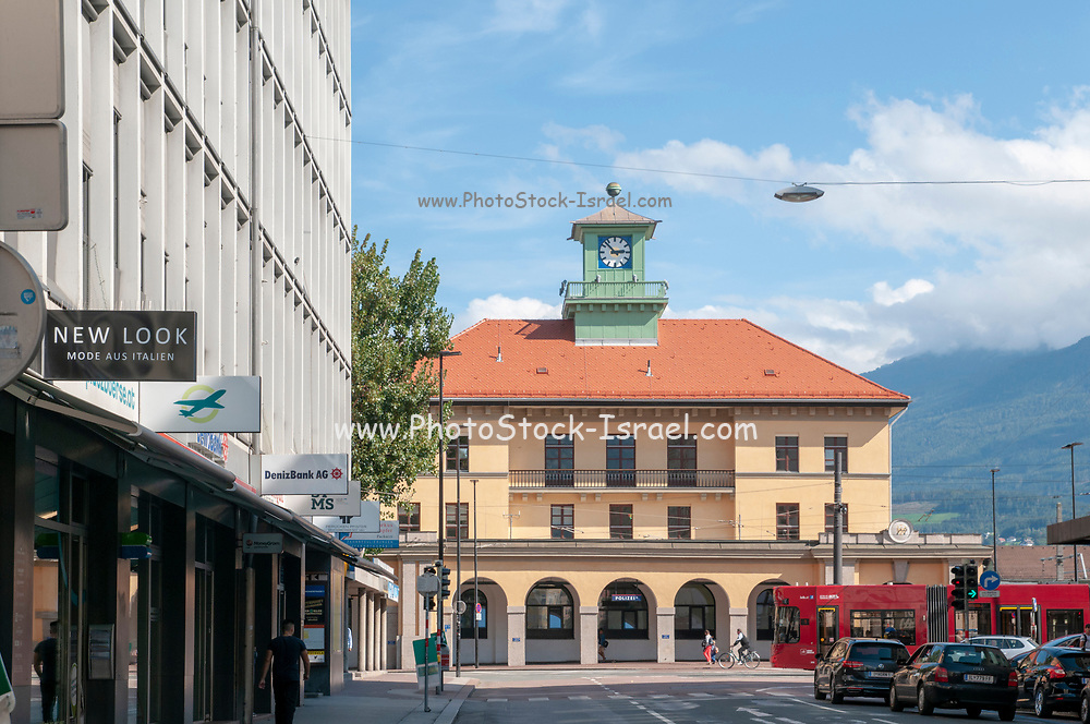 Historic train station, Innsbruck, Austria