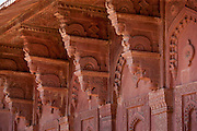 Northern Palace of the Haramsala, Birbal's House for the harem at Fatehpur Sikri city of the Mughals, at Agra, India