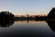 Sao Paulo_SP, Brasil...Lago no Parque do Ibirapuera...A lake at Ibirapuera Park...Foto: MARCUS DESIMONI / NITRO