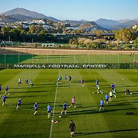 07.01.2020; Marbella; Fussball Super League - Trainingslager FC Basel; <br /> Die Basler trainineren im Marbella Football Center <br /> (Andy Mueller/freshfocus)