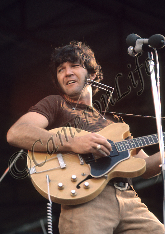 """Tony Joe White <br /> -Tony is still touring today and describes his style of music as """"Swampy Blues"""". He gained solid respect at the festival that evening, as he wooed the audience with his Deep South versions of """"Polk Salad Annie"""" and """"Boom Boom Boom"""". His only backing was Cozy Powell on drums, whom he borrowed from The Jeff Beck Group."""