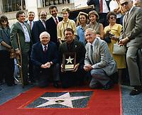 1986 Chad Everett's Walk of Fame ceremony