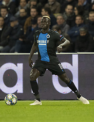 Krépin DAITTA from BRUGES In action during the UEFA Champions League Group A football match Paris Saint-Germain (PSG) v Club Brugge at the Parc des Princes stadium in Paris, France, on November 6, 2019. Photo by Loic BaratouxABACAPRESS.COM