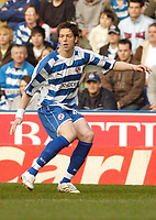Photo: Leigh Quinnell.<br /> Reading v Portsmouth. The Barclays Premiership. 17/03/2007. Readings Greg Halford makes his first start for Reading.