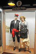 Display of traditional Spanish clothes from Catalunya