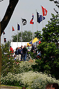 Nottingham, Great Britain, ENGLAND,  Flags, tents and hospitality, at the 2008 National Schools Regatta, Holme Pierrepont,  Saturday,  24/05/2008.  [Mandatory Credit:  Peter Spurrier/Intersport Images]