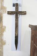 German First World War grave marker, Church of Saint Bartholomew, Orford, Suffolk, Suffolk, England, UK