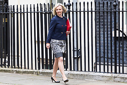 London, September 5th 2017. Chief Secretary to the Treasury Liz Truss attends the first UK cabinet meeting at Downing Street after the summer recess. ©Paul Davey