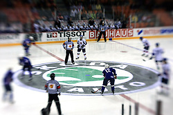 Beginning at ice-hockey game Slovenia vs Slovakia at second game in  Relegation  Round (group G) of IIHF WC 2008 in Halifax, on May 10, 2008 in Metro Center, Halifax, Nova Scotia, Canada. Slovakia won after penalty shots 4:3.  (Photo by Vid Ponikvar / Sportal Images)