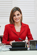 101915 Spanish Royals attend the Annual Meeting of the Board of Institute Cervantes