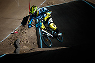 #165 (KOEHLER Nicholas) USA at the 2013 UCI BMX Supercross World Cup in Chula Vista