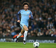 Leroy Sane of Manchester City during the Champions League Group C match at the Etihad Stadium, Manchester. Picture date: December 6th, 2016. Pic Simon Bellis/Sportimage