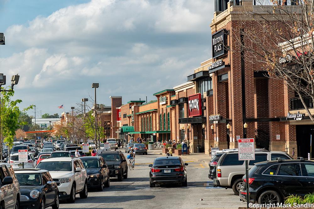 Businesses on the Atlanta Beltline near Ponce City Market, Eastside