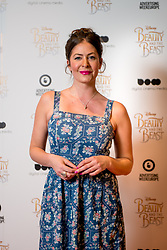 © Licensed to London News Pictures. 11/03/2017. London, UK. Radio presenter Lucy Horobin attending the Digital Cinema Media screening of Beauty and the Beast during Ad Week at Picturehouse Central. Photo credit : David Tett/LNP