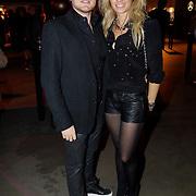 NLD/Amsterdam/20121013- LAF Fair 2012 VIP Night, Nicolette van Dam en broer Sebastiaan