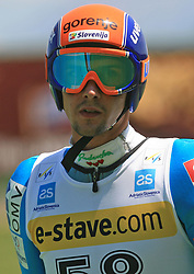 Jure Bogataj of Slovenia at FIS Continental cup Ski-jumping Summer Kranj, on July 6, 2008, Kranj, Slovenia. (Photo by Vid Ponikvar / Sportal Images)<br /> <br /> / Sportida)