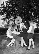 14/05/1959<br /> 05/14/1959<br /> 14 May 1959<br /> School for the Deaf at Mary Immaculate School for the deaf, Beech Park, Stillorgan. An outdoor class held by Sr. Mary Victoria  (Daughters of the Cross).