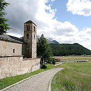 Chiesa San Giuan a Celerina..San Giuan church in Celerina