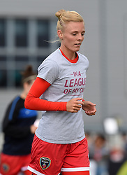 Bristol Academy captain Sophie Ingle warms up before the FA Women's Super League game between Bristol Academy Women and Manchester City Women on 18 July 2015 in Bristol, England - Photo mandatory by-line: Paul Knight/JMP - Mobile: 07966 386802 - 18/07/2015 - SPORT - Football - Bristol - Stoke Gifford Stadium - Bristol Academy Women v Manchester City Women - FA Women's Super League