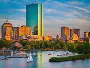 "Boston and  the Charles River as seen from Longfellow Bridge.  Boston is the capital of and largest city in Massachusetts, and is one of the oldest cities in the United States. The largest city in New England, Boston is regarded as the unofficial ""Capital of New England"" for its economic and cultural impact on the entire New England region. The city proper, covering only 48.43 square miles, had a population of 617,594 according to the 2010 U.S. Census. Boston is also the anchor of a substantially larger metropolitan area called Greater Boston, home to 4.5 million people and the tenth-largest metropolitan area in the country. Greater Boston as a commuting region is home to 7.6 million people, making it the fifth-largest Combined Statistical Area in the United States."