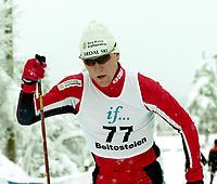 Cross Country Skiing, Beitosprinten 18. november 2000, klassisk. Svein Tore Sinnes, Tonsdal Sirdal.