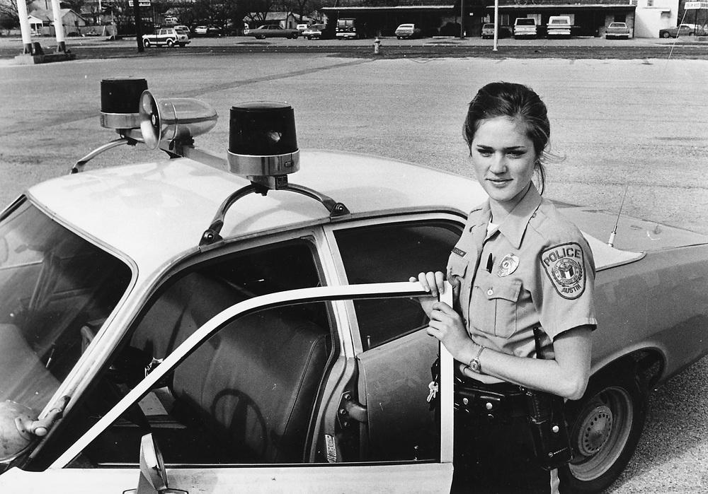 ©1992 Female police officer in Austin, Texas