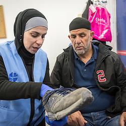 Mobile Diabetes Clinic, Palestine