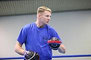 Boxen: Hamburg, 08.12.2020<br /> Trainer Mark Haupt<br /> © Torsten Helmke