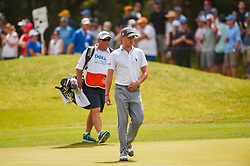 March 24, 2018 - Austin, TX, U.S. - AUSTIN, TX - MARCH 24: Justin Thomas walks across the green during the quarterfinals of the WGC-Dell Technologies Match Play on March 24, 2018 at Austin Country Club in Austin, TX. (Photo by Daniel Dunn/Icon Sportswire) (Credit Image: © Daniel Dunn/Icon SMI via ZUMA Press)