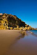 Figueira beach, Algarve, Portugal. Praia da Figueira.