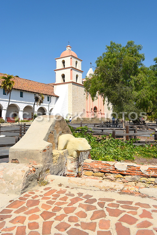 Washing Basin at Santa Barbara Mission