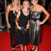 NLD/Utrecht/20070928 - Premiere film Goud over Nederlands dames hockeyelftal, Kim Lammers, Maartje Goderie en ....