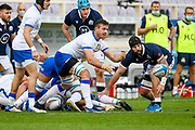 Bram Steyn (Italy) during the Autumn Nations Cup, rugby union Test match between Italy and Scotland on November 14, 2020 at the Artemio Franchi stadium in Florence, Italy - Photo Ettore Griffoni / LM / ProSportsImages / DPPI