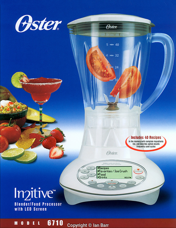 Oster in2itive blender Ad