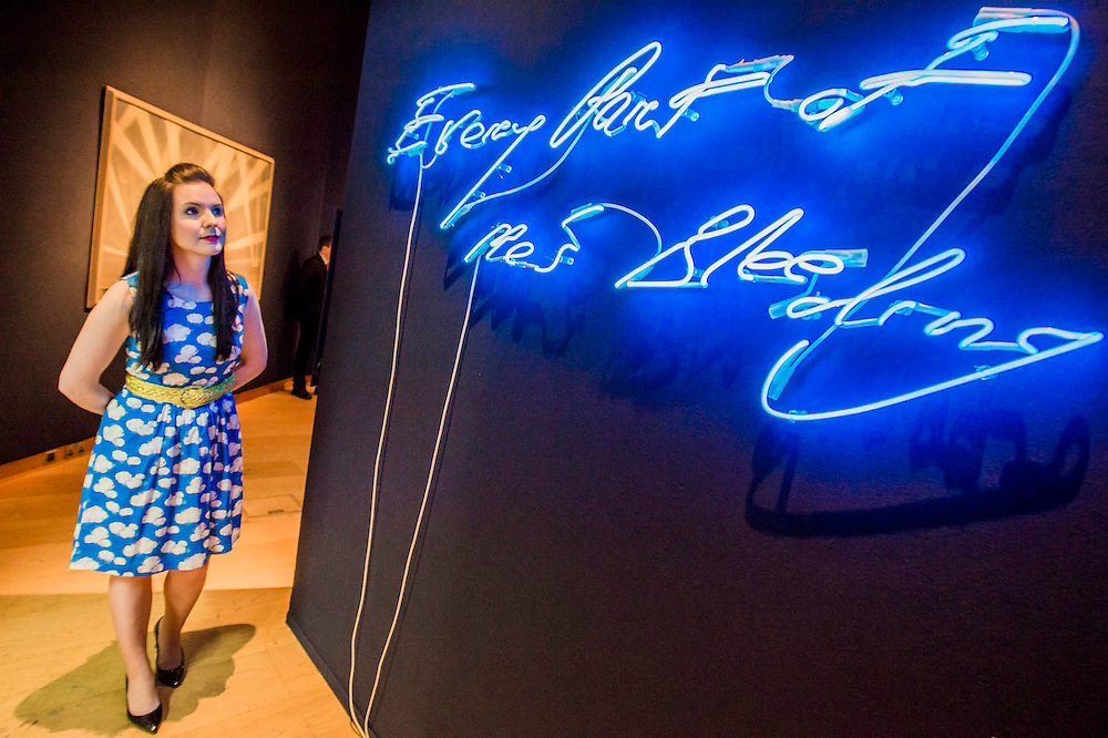 Every part of me is bleeding by Tracey Emin (est £50-70k) - Christie's Curates: PAST PERFECT / FUTURE PRESENT. A celebration of creativity which launches the summer season, this exhibition showcases a dynamic 'juxtaposition' of art from across the ages alongside innovative and new media works by four emerging artists: James Balmforth, Armand Boua, Olga Chernysheva and Harry Sanderson. This year's curators Alina Brezhneva, Bianca Chu, Milo Dickinson and Tancredi Massimo di Roccasecca 'drive the exhibition in to a bold new chapter'. Highlights: the black felt bicorne hat, once belonging to the Emperor Napoleon and worn by him during the whole Campaign of 1807, in the Battle of Eylau and Friedland, and at the Treaty of Tilsit; the Merlin III engine from an authentic and immaculately restored Vickers Supermarine Spitfire Mk.1A – P9374/G-MK1A. This is a truly iconic aircraft which is symbol of the bravery 'of the few' in the Battle of Britain; and the first opportunity to view Chris Ofili's The Holy Virgin Mary (1996) in London - first exhibited at the generation-defining exhibition 'Sensation' in London and New York, The Holy Virgin Mary was a focal point for the widespread attention the exhibition received throughout the international media landscape, and dates from a moment that saw Ofili propelled to international fame. The works will be on view to the public from 12-16 June at Christie's King Street,