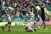 16/08/14 SCOTTISH PREMIERSHIP<br /> CELTIC v DUNDEE UTD<br /> CELTIC PARK - GLASGOW<br /> Celtic's Jo Inge Berget celebrates his goal