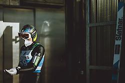31.12.2020, Olympiaschanze, Garmisch Partenkirchen, GER, FIS Weltcup Skisprung, Vierschanzentournee, Garmisch Partenkirchen, Qualifikation, Herren, im Bild Anze Lanisek (SLO) // Anze Lanisek of Slovenia during qualification jump of men's Four Hills Tournament of FIS Ski Jumping World Cup at the Olympiaschanze in Garmisch Partenkirchen, Germany on 2020/12/31. EXPA Pictures © 2020, PhotoCredit: EXPA/ JFK