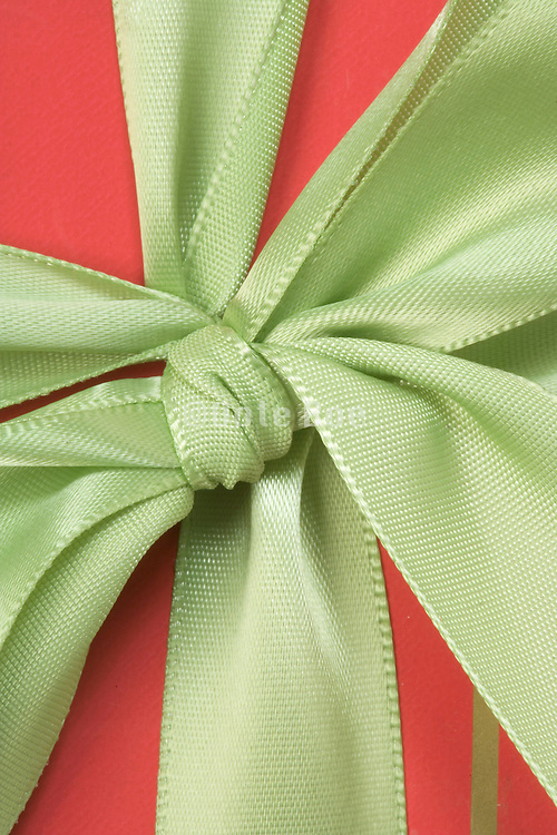 close up of a gift wrap present fully focused