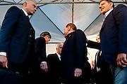 Silvio Berlusconi in Piazza Maggiore durante la manifestazione della Lega Nord<br /> 8 novembre 2015 . Daniele Stefanini /  OneShot