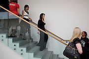 LILLY ALLEN; NIGELLA LAWSON, The Revolution Continues: New Art From China. The opening of the New Saatchi Gallery. King's Rd.  London. 7 October 2008. *** Local Caption *** -DO NOT ARCHIVE-© Copyright Photograph by Dafydd Jones. 248 Clapham Rd. London SW9 0PZ. Tel 0207 820 0771. www.dafjones.com.