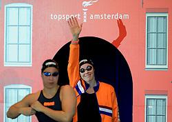 14-12-2014 NED: Swim Cup 2014, Amsterdam<br /> Ranomi Kromowidjojo, Femke Heemskerk