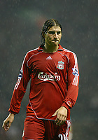 Fotball<br /> England <br /> League Cup 3rd round<br /> Liverpool v Reading<br /> Foto: Propaganda/Digitalsport<br /> NORWAY ONLY<br /> <br /> LIVERPOOL, ENGLAND - WEDNESDAY, OCTOBER 25th, 2006: Liverpool's Gabriel Paletta during the League Cup 3rd Round match against Reading at Anfield