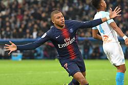 October 28, 2018 - Marseille, france - Kylian Mbappe - Marseille vs Paris SG - Ligue 1 Conforama (Credit Image: © Panoramic via ZUMA Press)